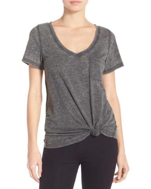 Make + Model | Gray Gotta Have It V-neck Tee | Lyst