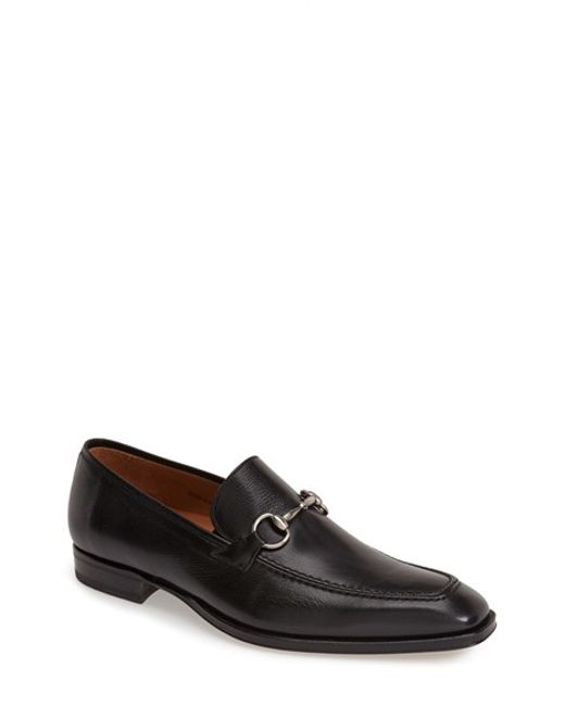 Mezlan | Black 'tours' Leather Bit Loafer for Men | Lyst
