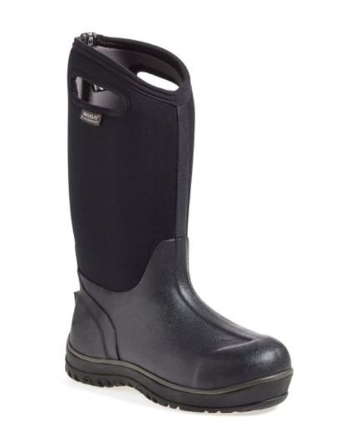Bogs | Black 'classic' Ultra High Waterproof Snow Boot With Cutout Handles | Lyst