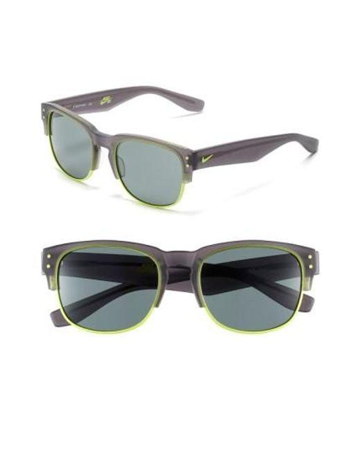 Nike   Gray Volition 54mm Sunglasses   Lyst