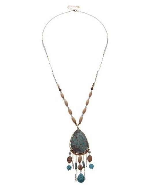 Nakamol - Metallic Pendant Necklace - Lyst