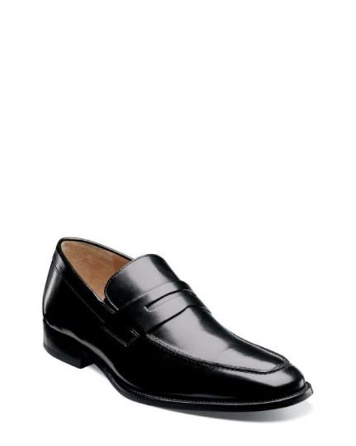 Florsheim | Black 'sabato' Penny Loafer for Men | Lyst