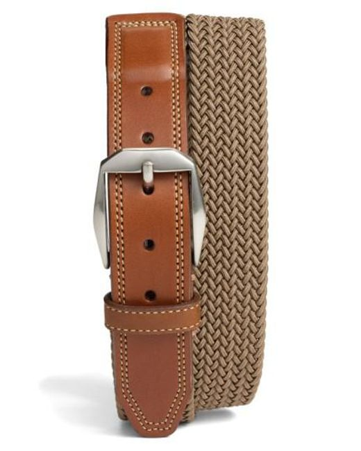 Martin Dingman | Brown 'beck' Stretch Belt for Men | Lyst