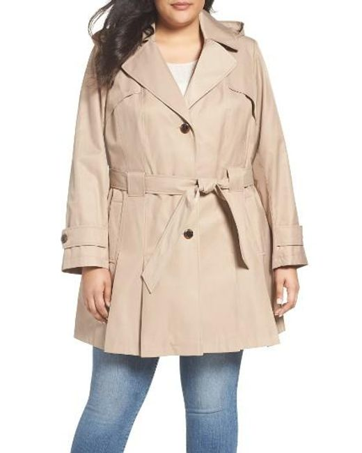 Via Spiga | Natural 'scarpa' Single Breasted Trench Coat | Lyst