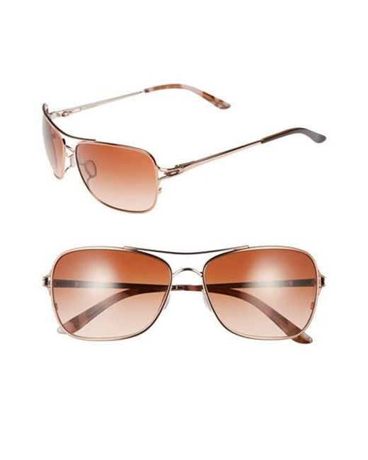 Oakley | Pink 'conquest' 59mm Sunglasses | Lyst
