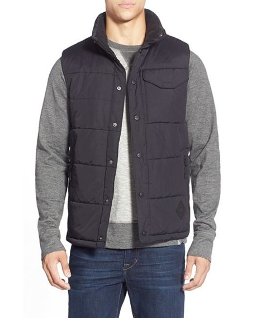 The North Face | Black 'patrick's Point' Quilted Vest for Men | Lyst