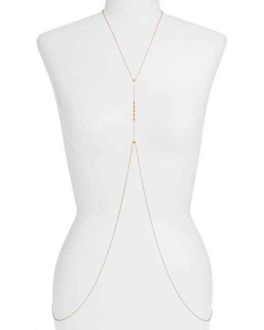 Gorjana | Metallic 'bali' Body Chain | Lyst