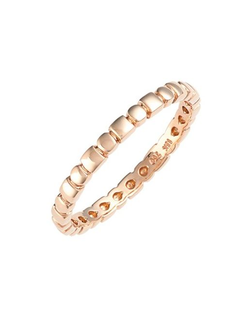 Bony Levy | Pink 14kt Beaded Ring (nordstrom Exclusive) | Lyst