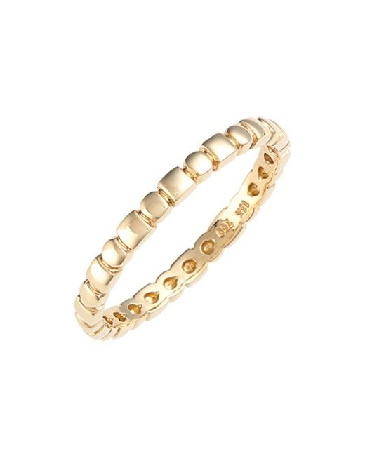 Bony Levy | Yellow 14kt Beaded Ring (nordstrom Exclusive) | Lyst