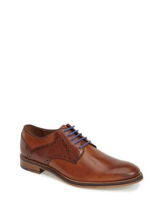 Johnston & Murphy | Brown 'conard' Saddle Shoe for Men | Lyst