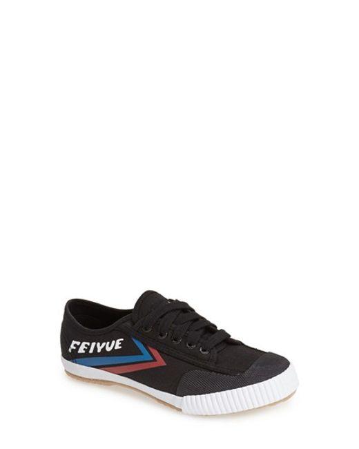 Feiyue | Black 'Fe Lo Classic' Canvas Sneaker | Lyst