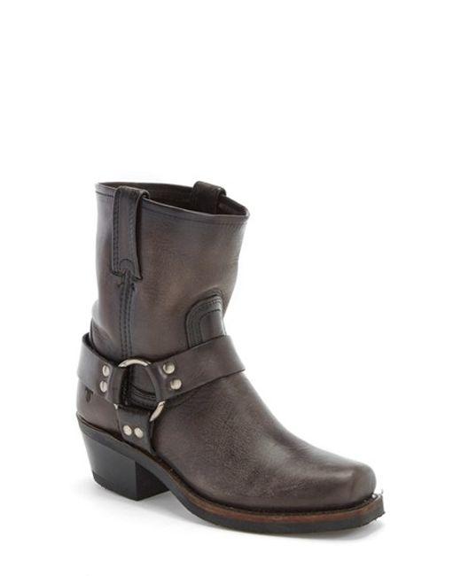 Frye | Gray 'Harness 8R' Boot | Lyst