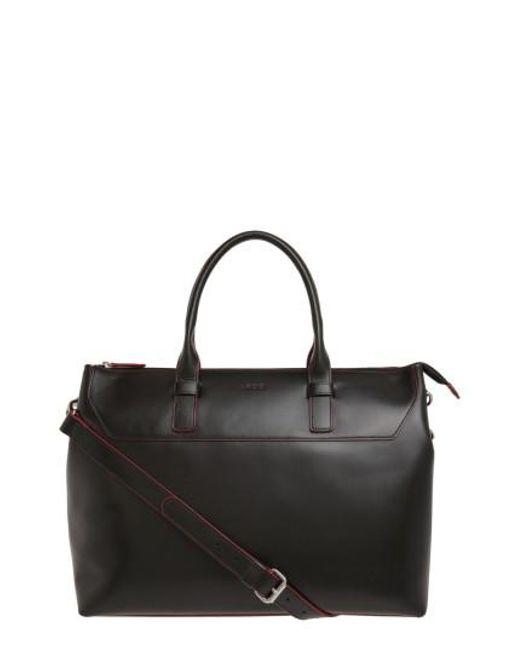 Lodis | Black Audrey Wilhelmina Leather Work Satchel | Lyst