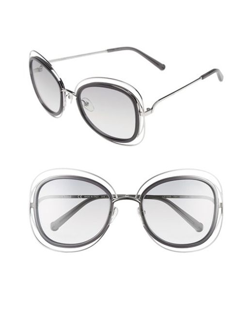 Chloé | Multicolor 'carlina' 56mm Gradient Sunglasses | Lyst