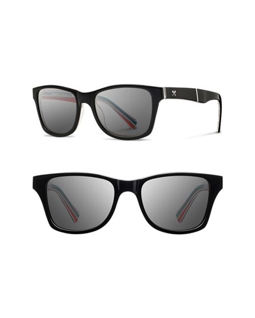Shwood | Black 'canby - Pendleton' 54mm Polarized Sunglasses | Lyst