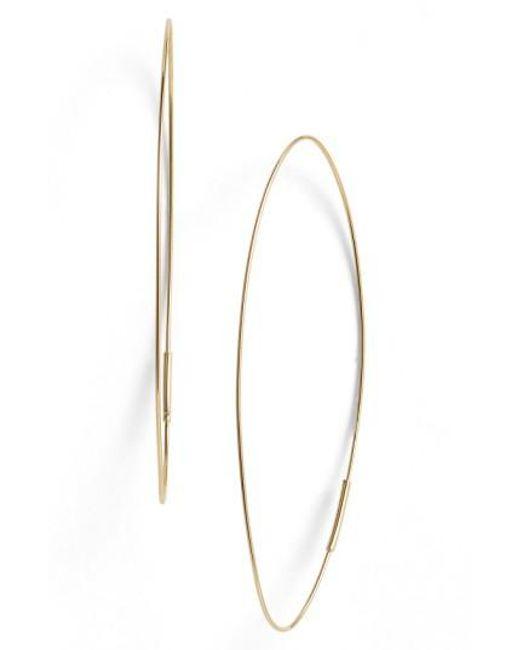 Lana Jewelry | Yellow 'magic' Large Oval Hoop Earrings | Lyst