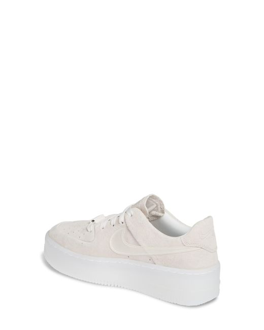 e43e935de2f5 ... Nike - White Air Force 1 Sage Low Platform Sneaker - Lyst
