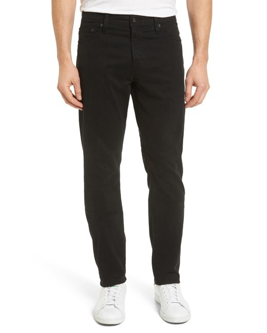 AG Jeans - Black Jeans Everett Slim Leg Pants for Men - Lyst