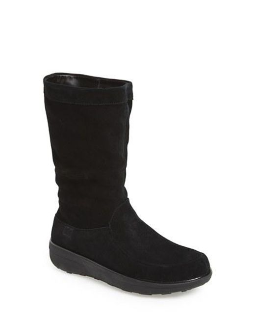 Fitflop | Black (tm) 'loaff' Slouchy Boot | Lyst