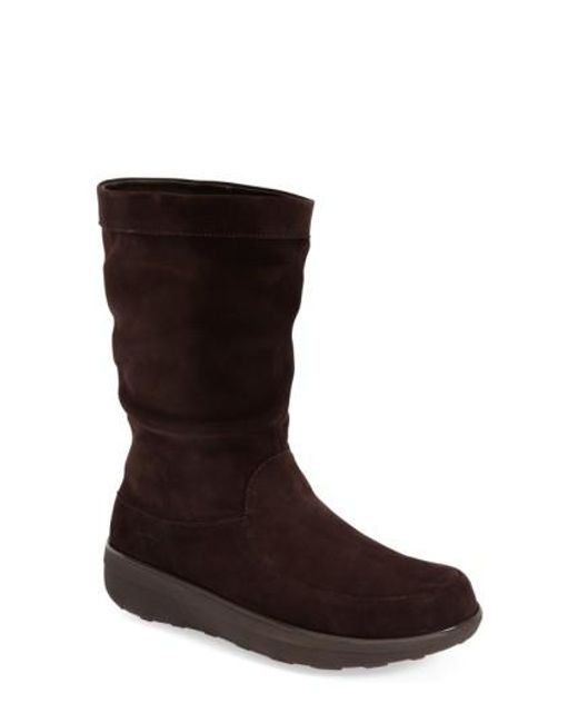 Fitflop | Brown (tm) 'loaff' Slouchy Boot | Lyst