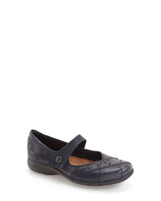 Cobb Hill | Brown 'petra' Mary Jane Flat | Lyst