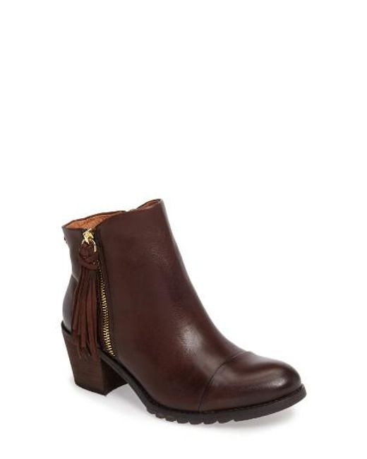 Pikolinos | Brown 'andorra' Water Resistant Boot | Lyst