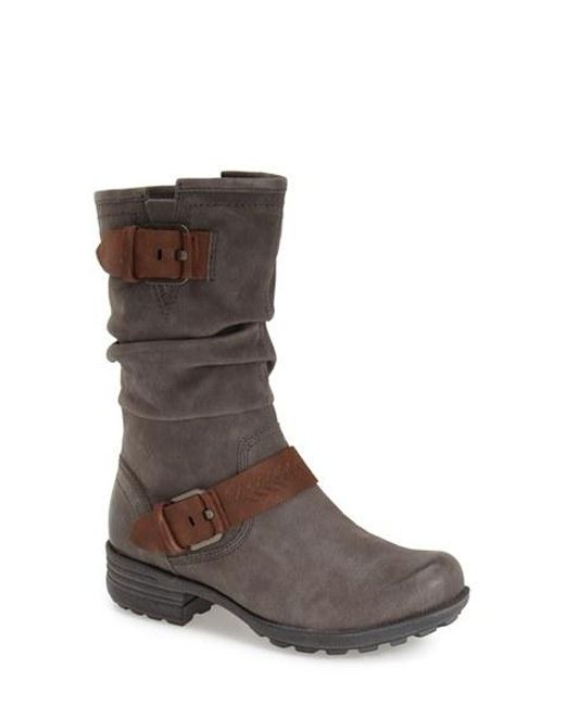 Cobb Hill | Gray Cobb Hill 'brooke' Boot | Lyst