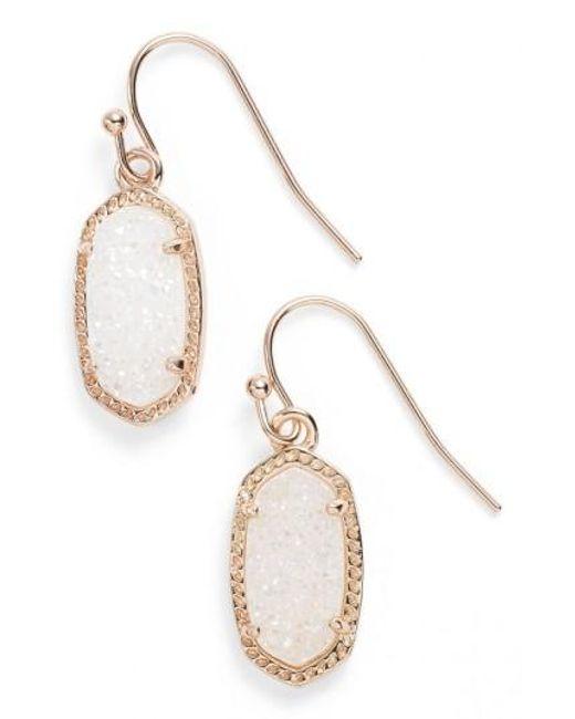 Kendra Scott | Metallic 'lee' Small Drop Earrings | Lyst