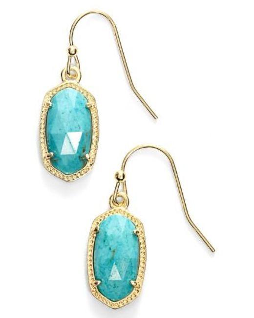 Kendra Scott | Multicolor 'lee' Small Drop Earrings | Lyst