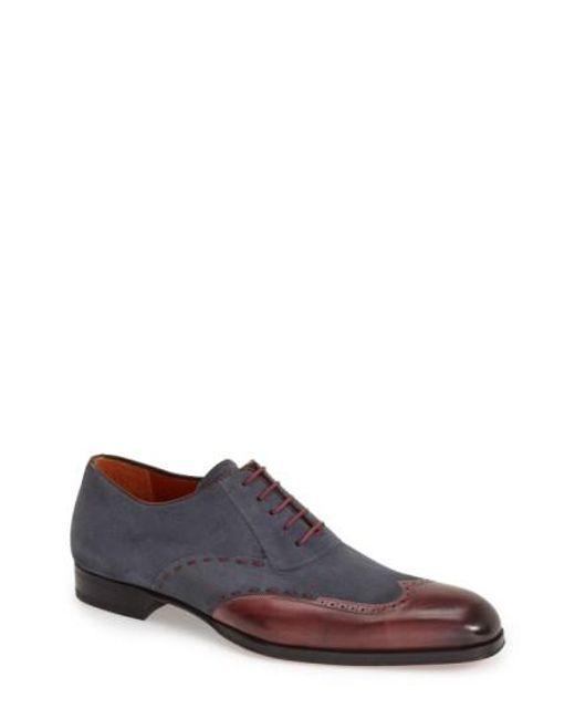 Mezlan | Purple 'ronda' Spectator Shoe for Men | Lyst