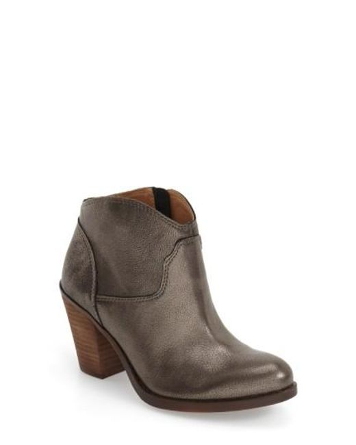 Lucky Brand   Gray Eller Suede Ankle Boots   Lyst