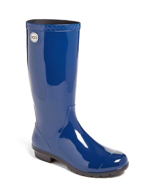 UGG | Gray 'shaye' Rain Boot | Lyst
