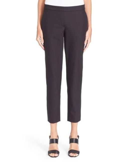 Theory | Black 'thaniel' Trousers | Lyst