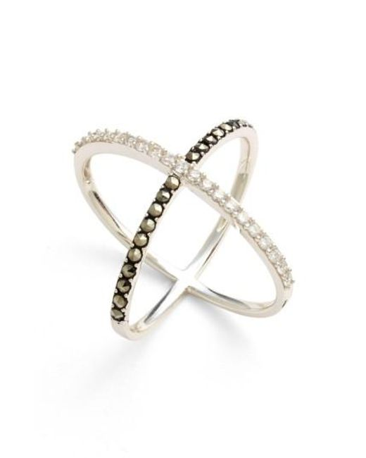 Judith Jack | Metallic 'rings & Things' Crossover Ring | Lyst