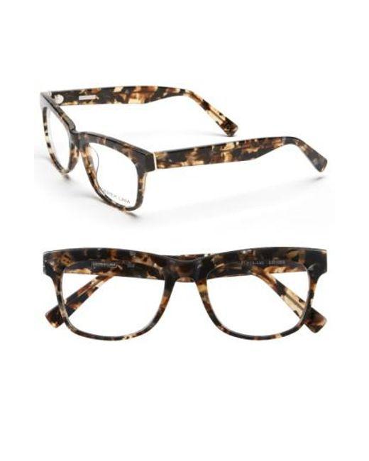 Derek Lam | Brown 51mm Optical Glasses | Lyst