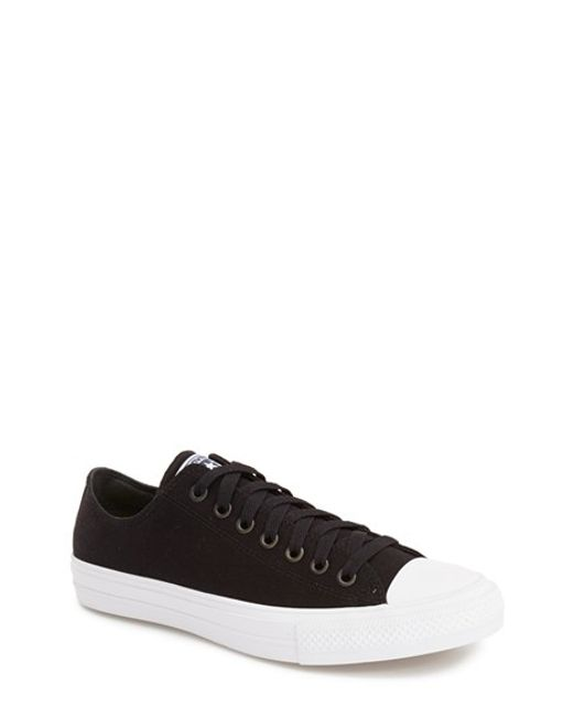 Converse | Black Chuck Taylor All Star Ii 'Ox' Canvas Sneaker for Men | Lyst