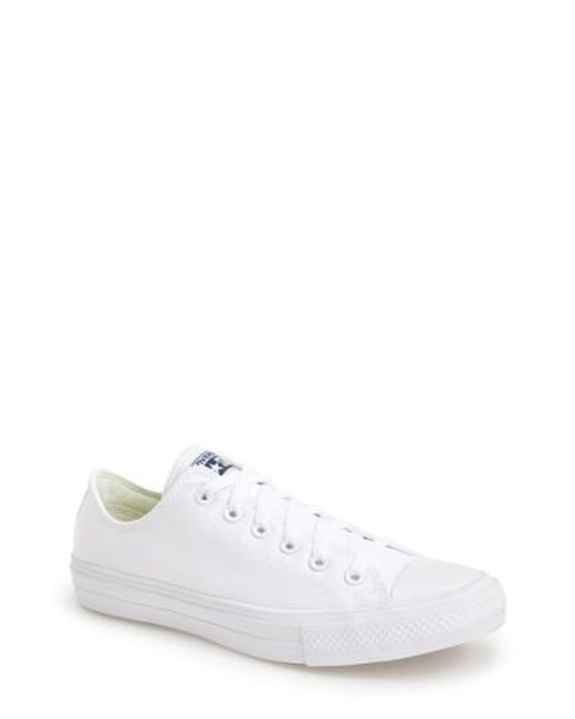Converse | Blue Chuck Taylor All Star Ii 'Ox' Canvas Sneaker for Men | Lyst