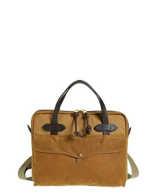 Filson | Natural Canvas Tablet Briefcase for Men | Lyst