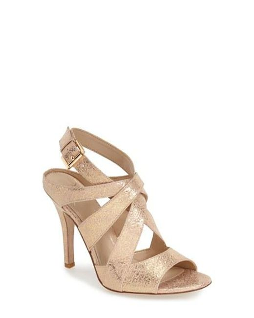 Kay Unger   Metallic 'phoebe Collection - Sussex' Sandal   Lyst