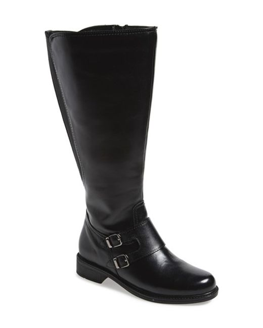 David Tate | Black 'highland' Boot | Lyst