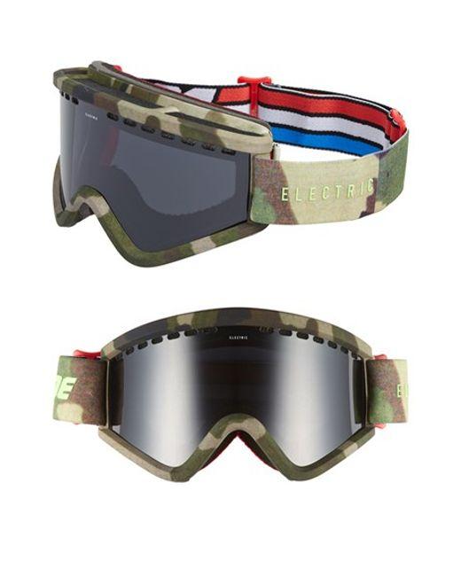 Electric Egv 200mm Snow Goggles - G.i. Joe Camo/ Jet Black ...