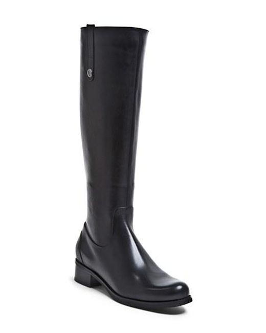Blondo | Black 'victorina' Waterproof Leather Riding Boot | Lyst