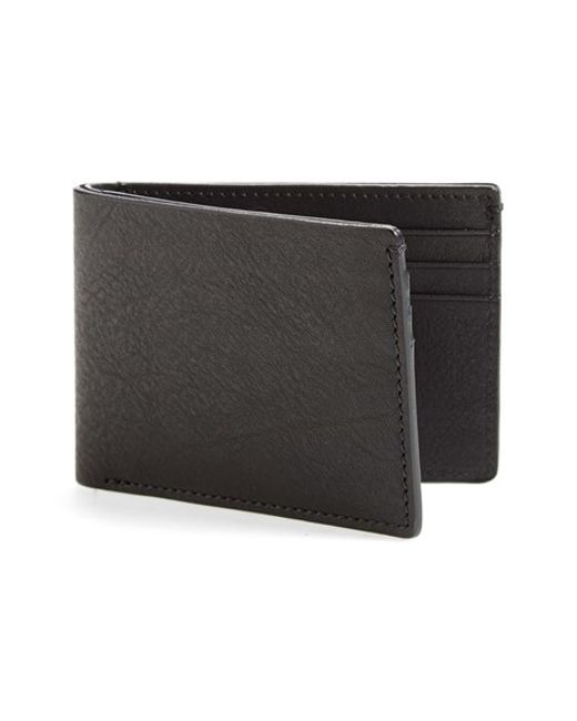 Bosca | Black Leather Wallet for Men | Lyst