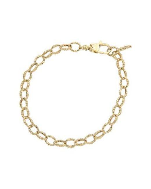 Lagos | Metallic Caviar Link Bracelet | Lyst