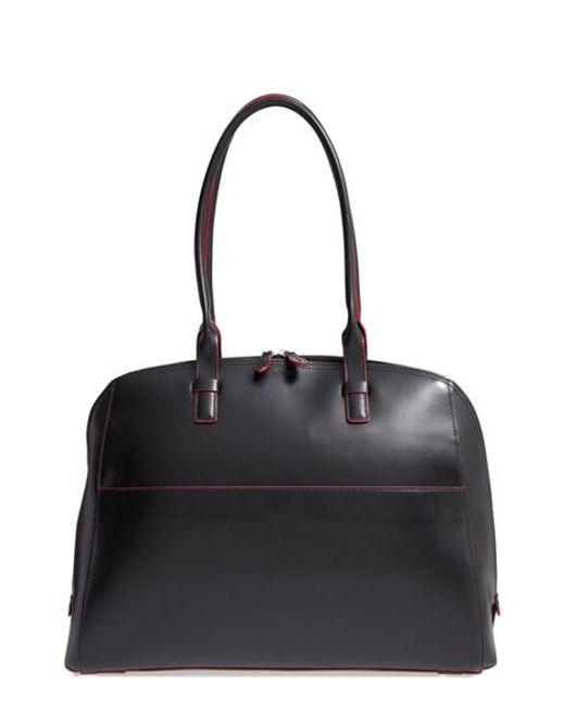 Lodis   Black 'audrey Collection - Buffy' Leather Shoulder Bag   Lyst