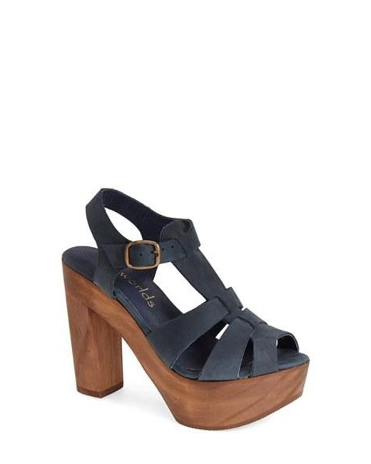 Five Worlds | Blue By Cordani 'tecate' Platform Sandal | Lyst