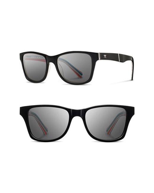 Shwood   Black 'canby - Pendleton' 54mm Polarized Sunglasses for Men   Lyst