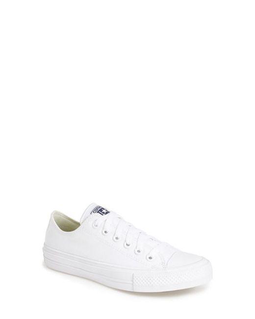 Converse | Pink Chuck Taylor All Star 'chuck Ii' Low Top Sneaker | Lyst