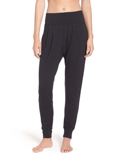 Zella 'harmony' Harem Pants In Black