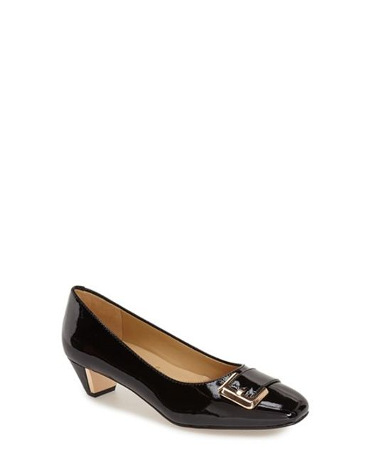 Trotters | Black 'fancy' Pump | Lyst